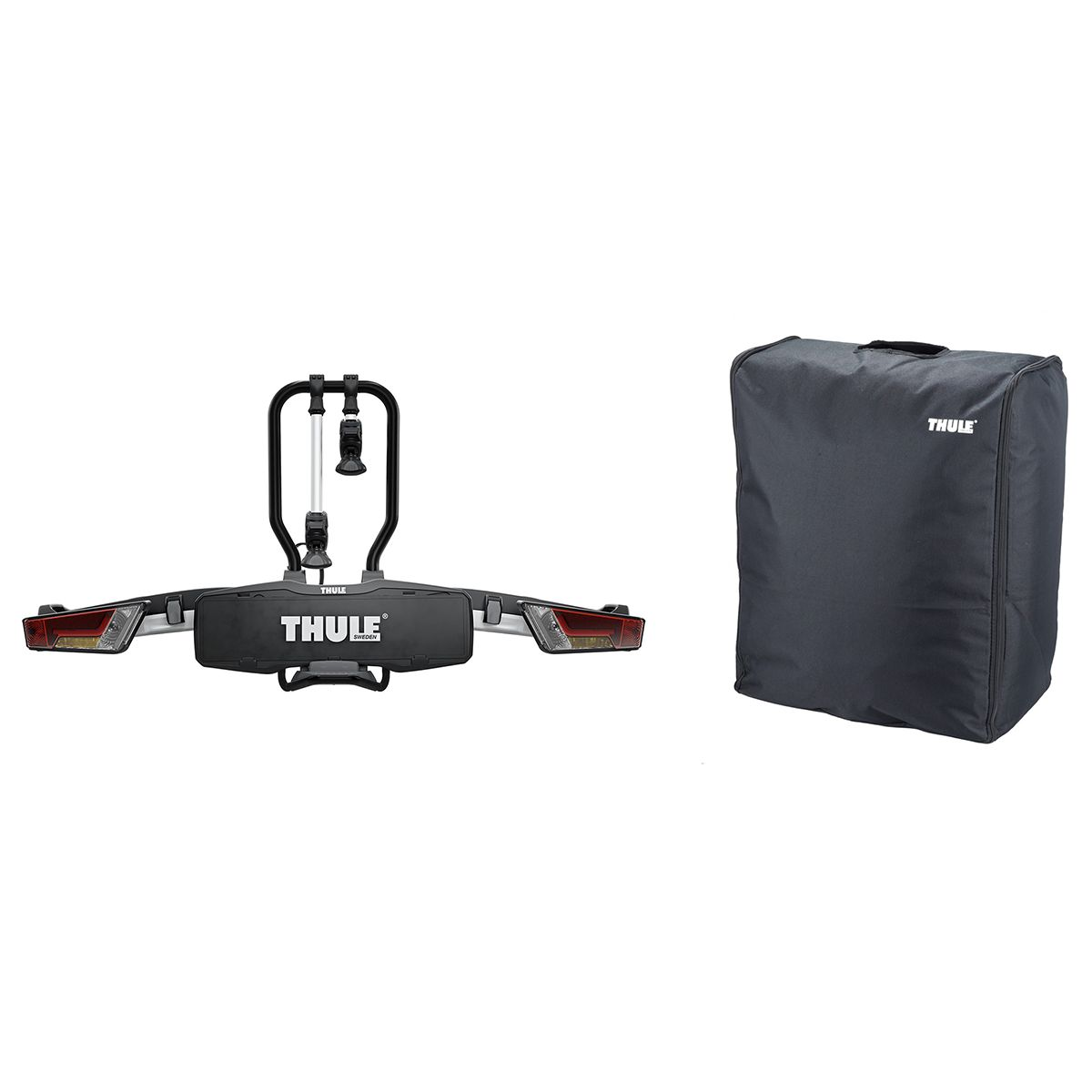 Set offer Thule Easyfold XT 933 bike rack + carrying bag 931-1