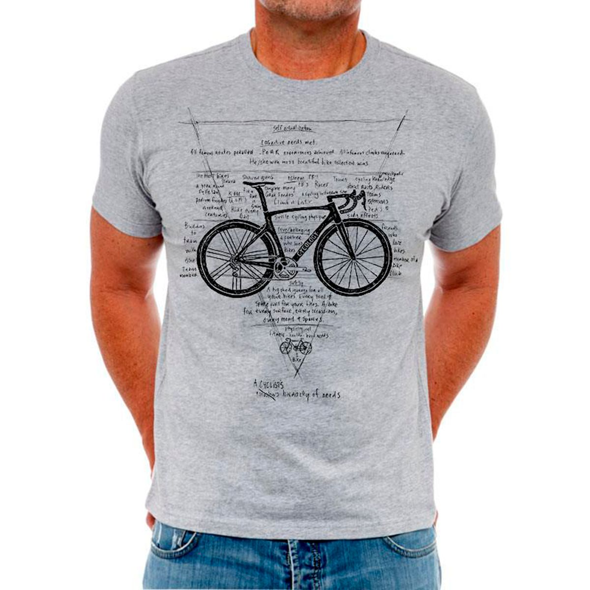 CYCOLOGY HIERARCHY OF NEEDS T-Shirt | Trøjer