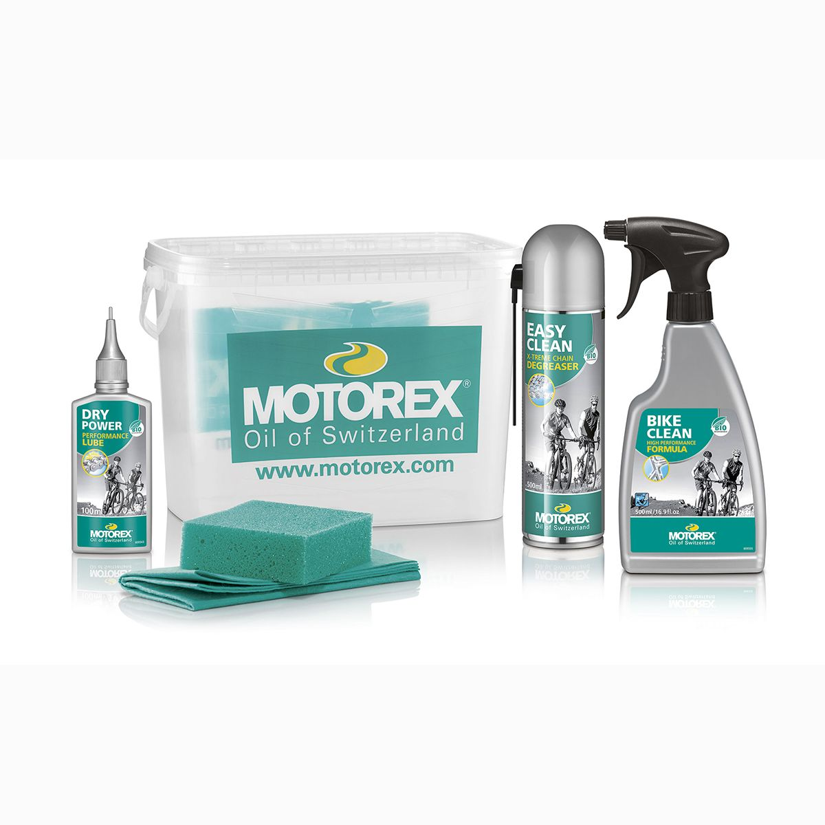 Motorex Bike Kit - care set | polish_and_lubricant_component