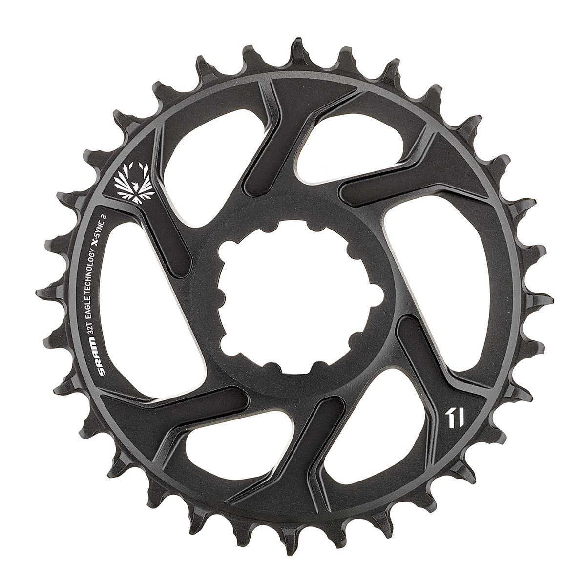 Eagle X-SYNC 2 Direct Mount Chainring Aluminium, 12 speed, 6mm Offset