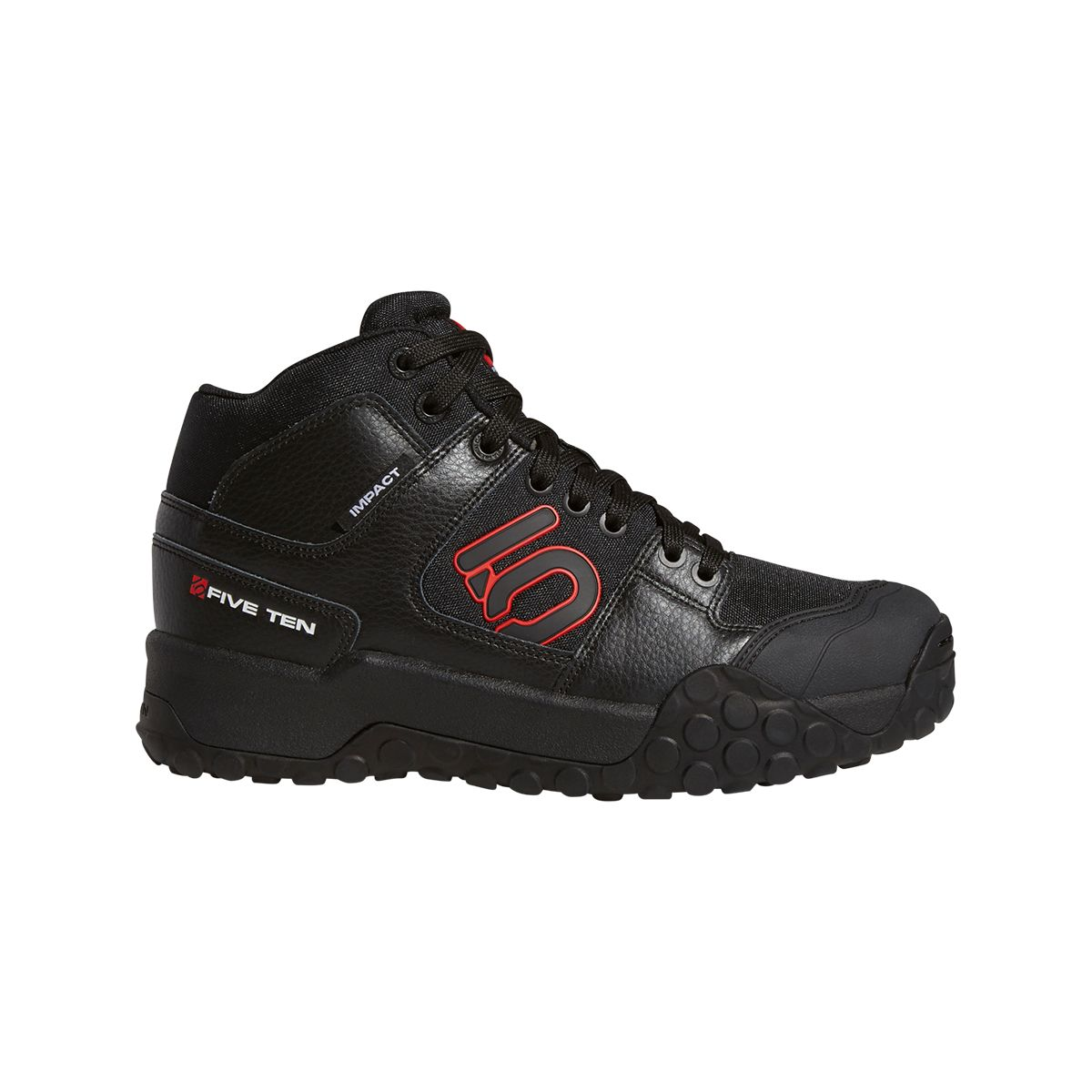 FIVE TEN IMPACT HIGH Flat Pedal MTB Shoes | Shoes and overlays