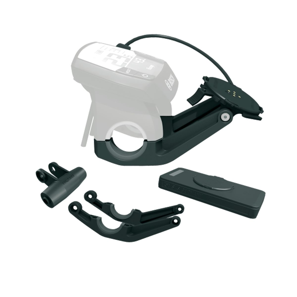 SKS Germany COMPIT/E+ Smartphone Holder for Bosch Intuvia/Nyon Incl. +COM/UNIT Powerbank | Computer Battery and Charger