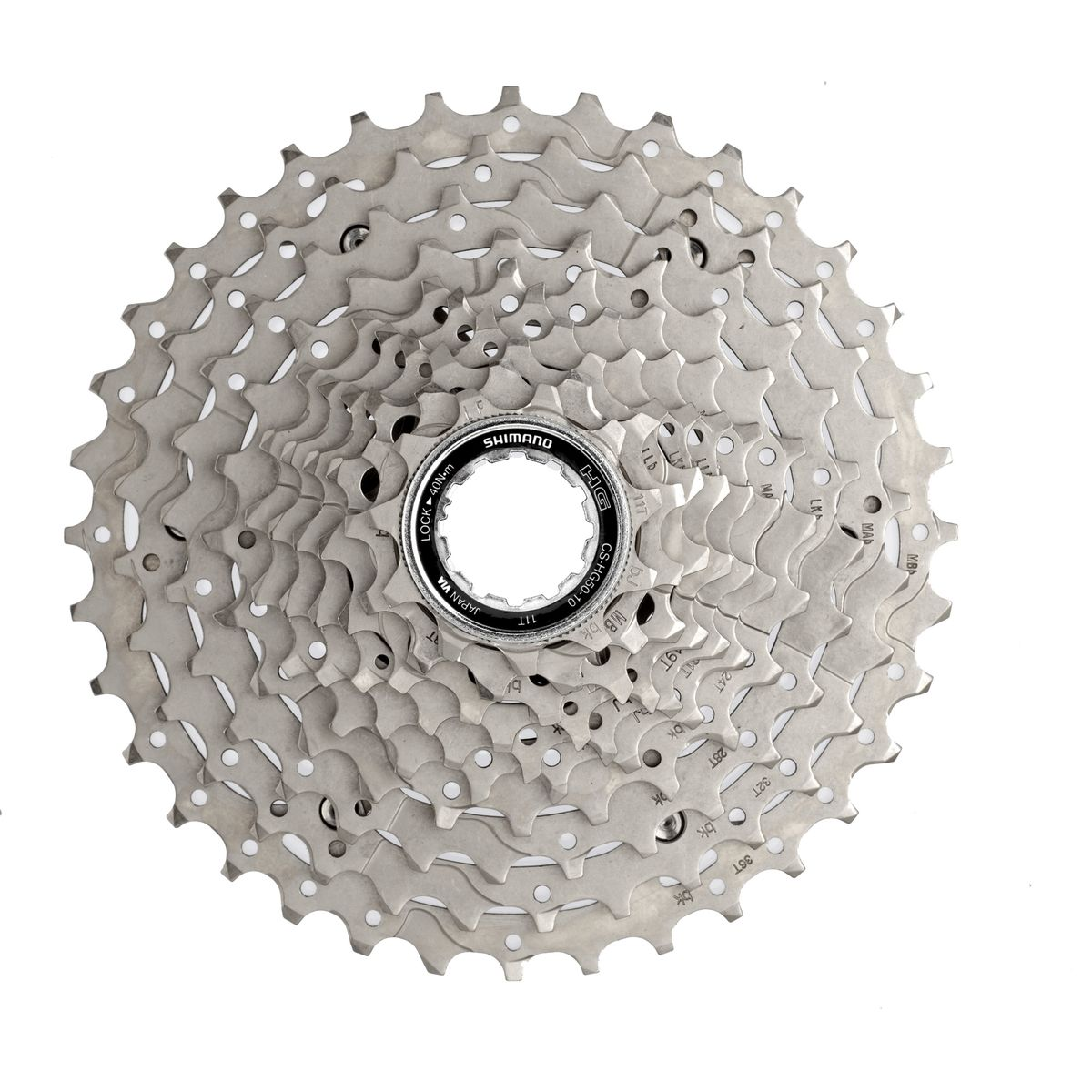 CS-HG50-10 10-speed cassette