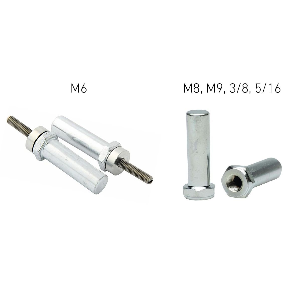 FollowMe Adapter Axle Extension Nut | bike_trailers_component