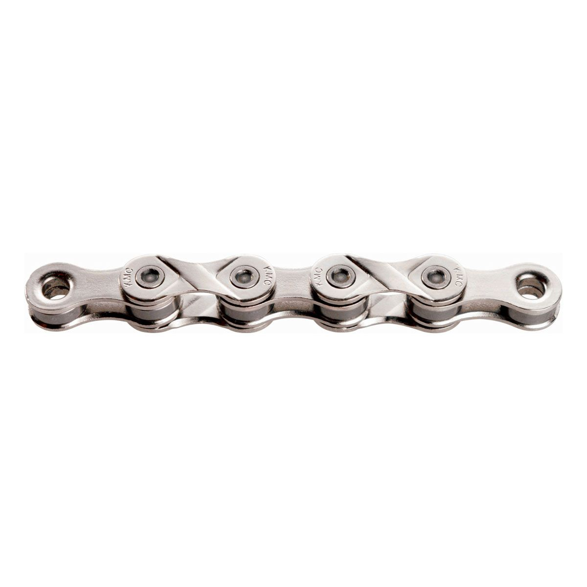"""114 links 8 speed 1//2/"""" X 3//32/"""" *NO GREY pin 7.3mm KMC X8 Silver chain"""