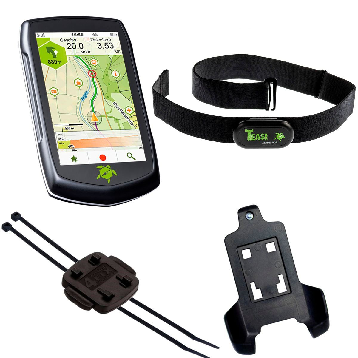 Teasi One 4 HR GPS Device with Heart Rate Sensor | Heart rate monitors