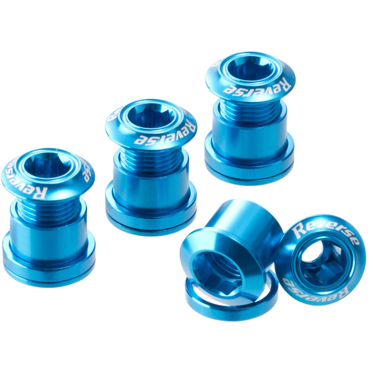 Reverse chainring bolts set of four | Chainring bolt