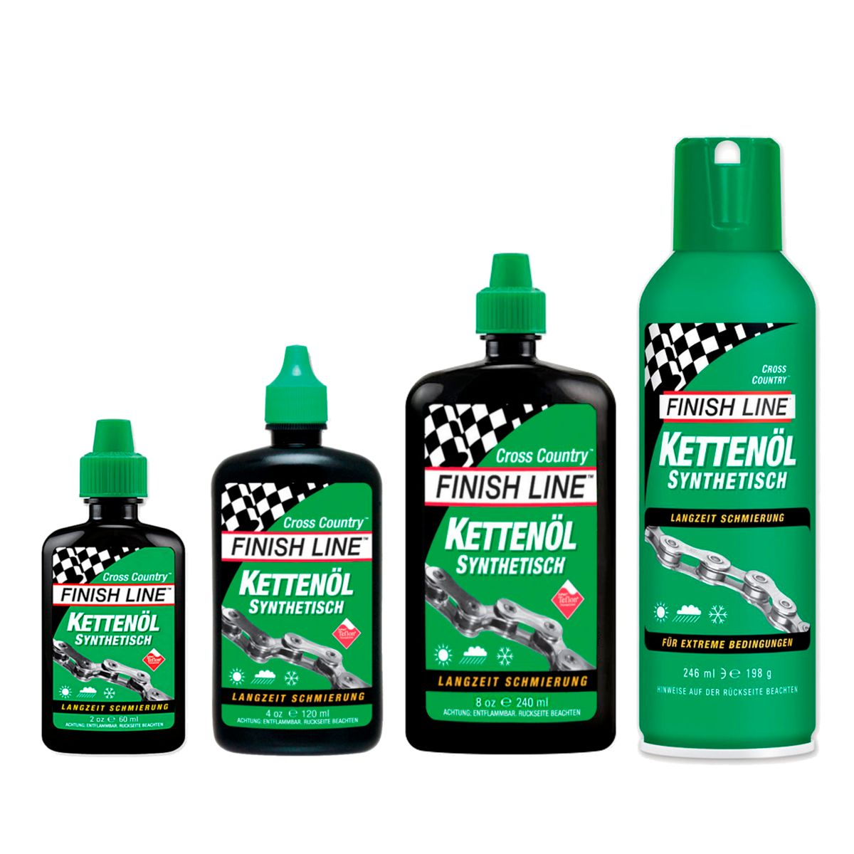 Cross Country chain lube