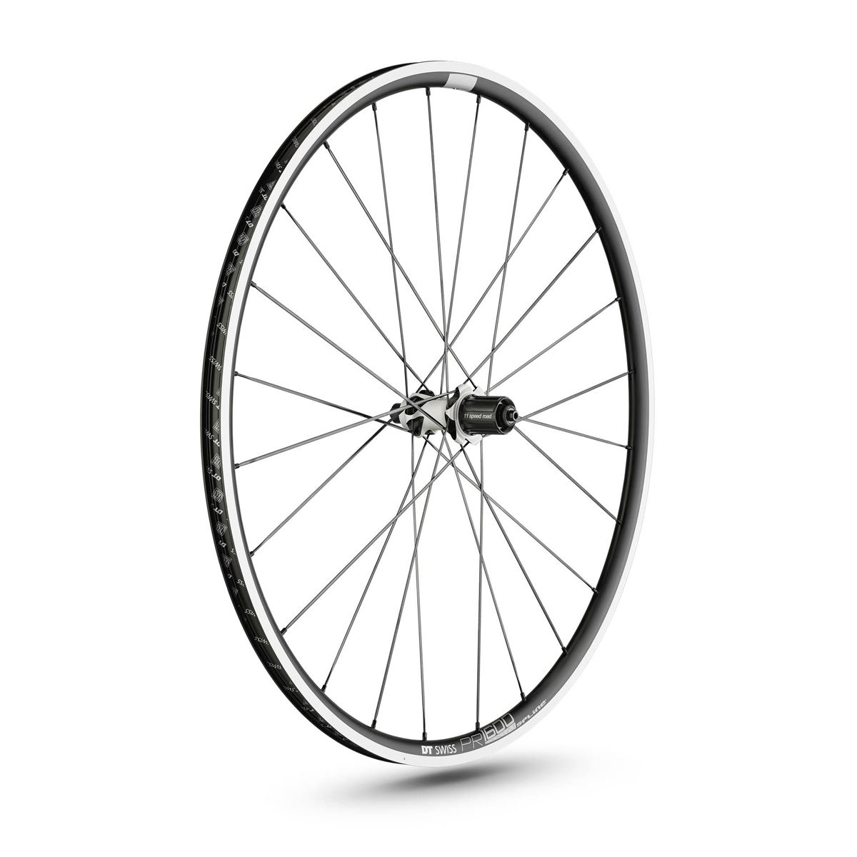 PR 1600 Spline 23 road rear wheel 28
