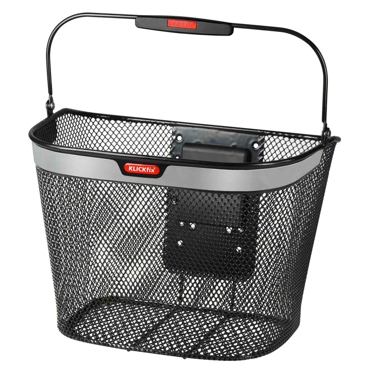 KLICKfix UNIKORB REFLECT front bicycle basket | Cykelkurve