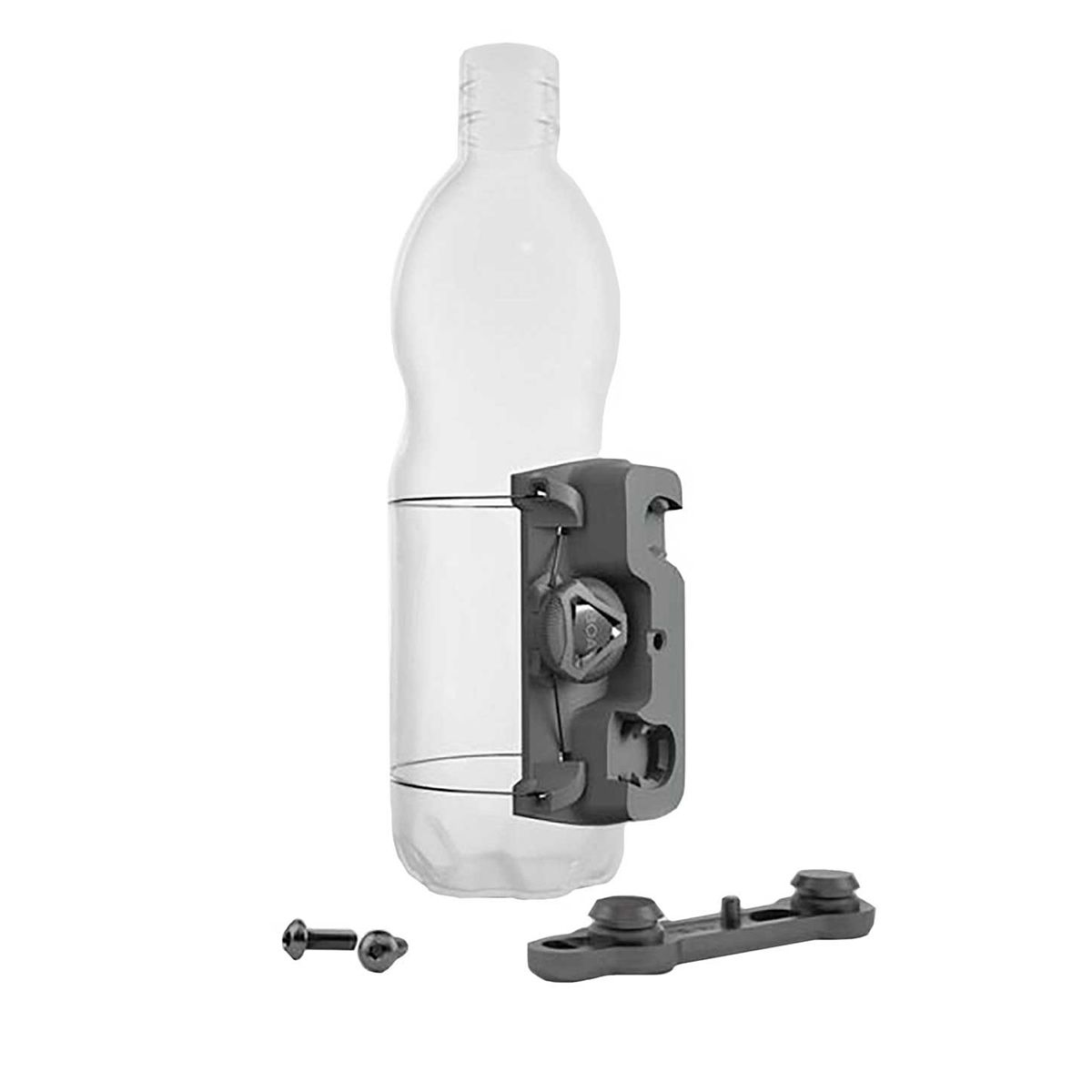 TWIST uni connector universal bottle mount incl. TWIST bike base