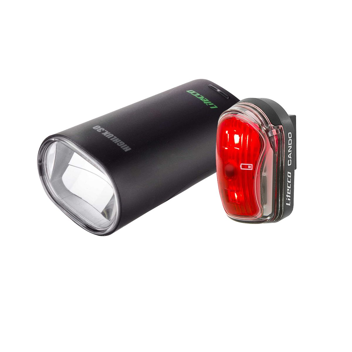 Litecco Lighting set Highlux.30 headlight and Cando tail light | Lygtesæt