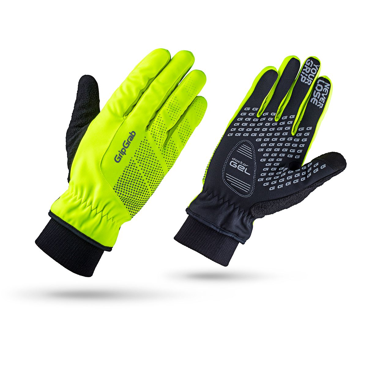 RIDE WINDPROOF HI-VIS WINTER GLOVE