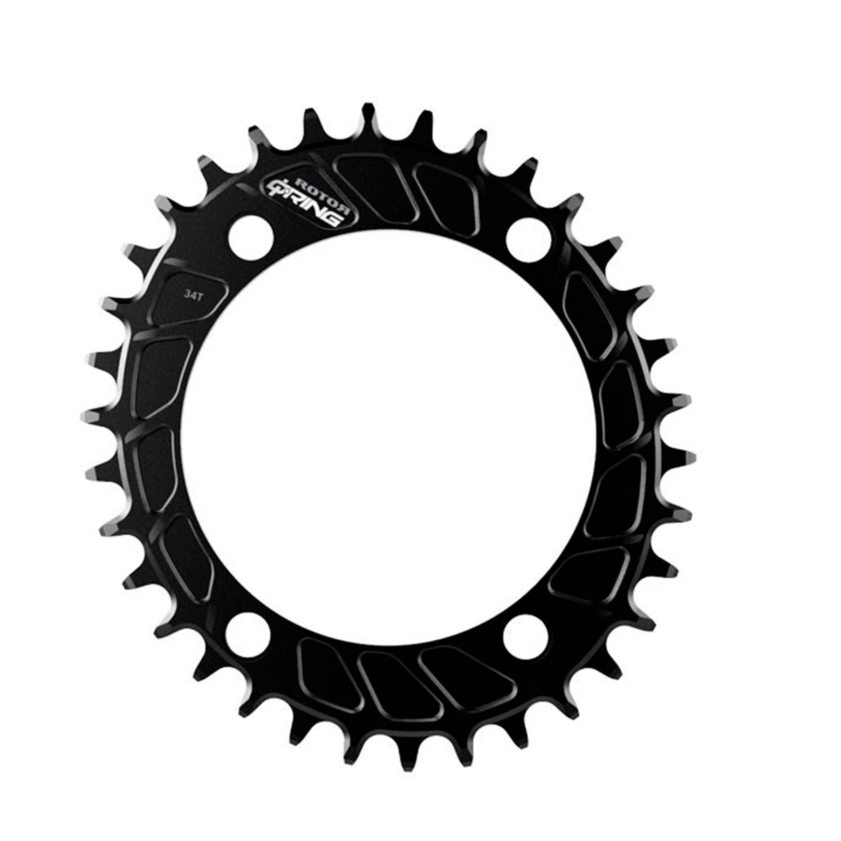 Q-Rings chainring 1x MTB for INSpider Powermeter oval 110x4