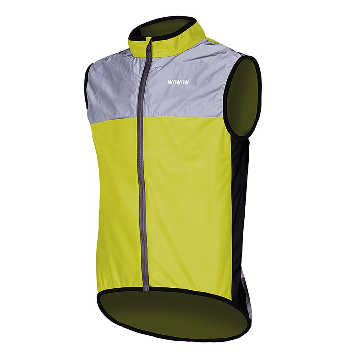 WOWOW DARK JACKET 1.1 YELLOW sports vest | Veste