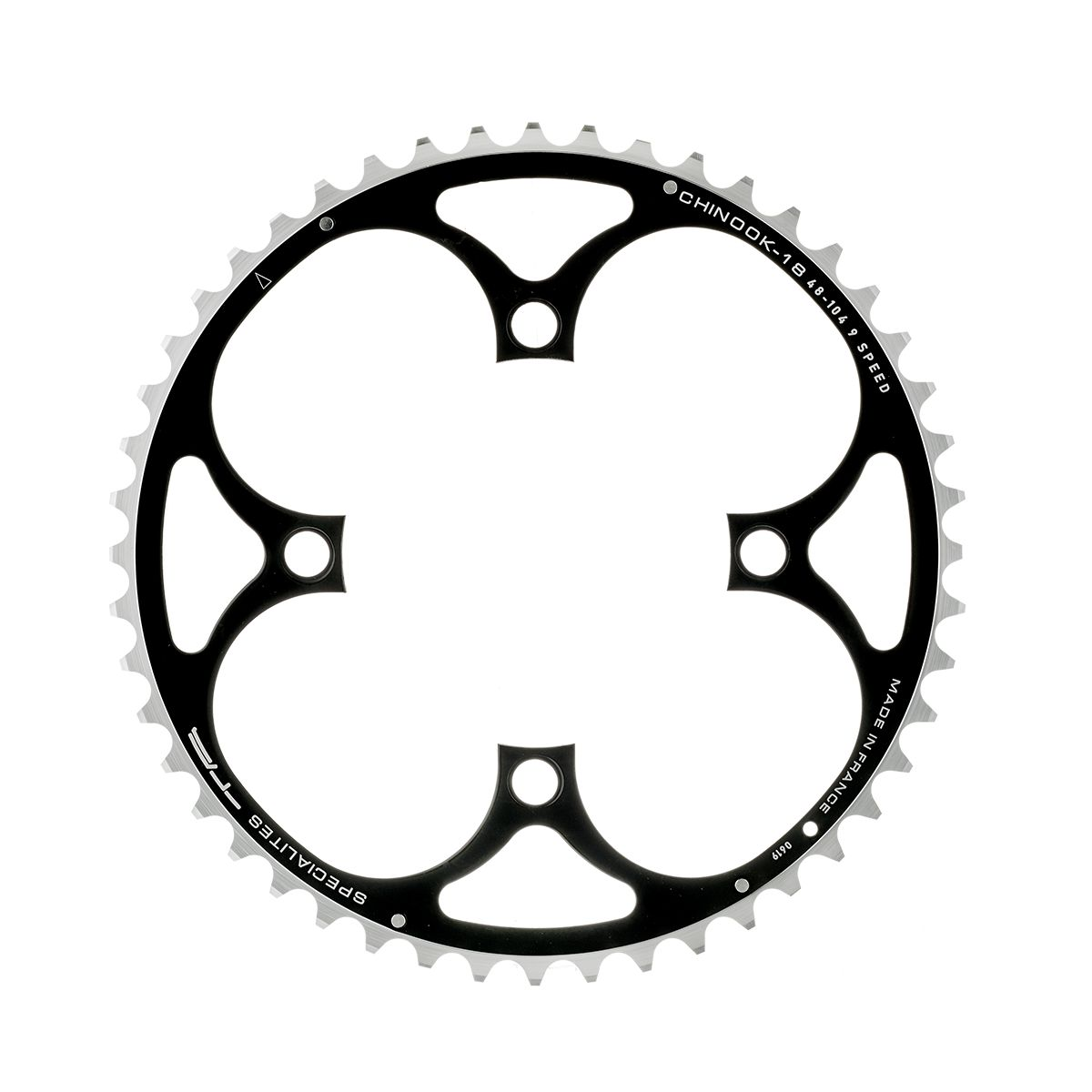 Chinook 9-speed 48-tooth chainring