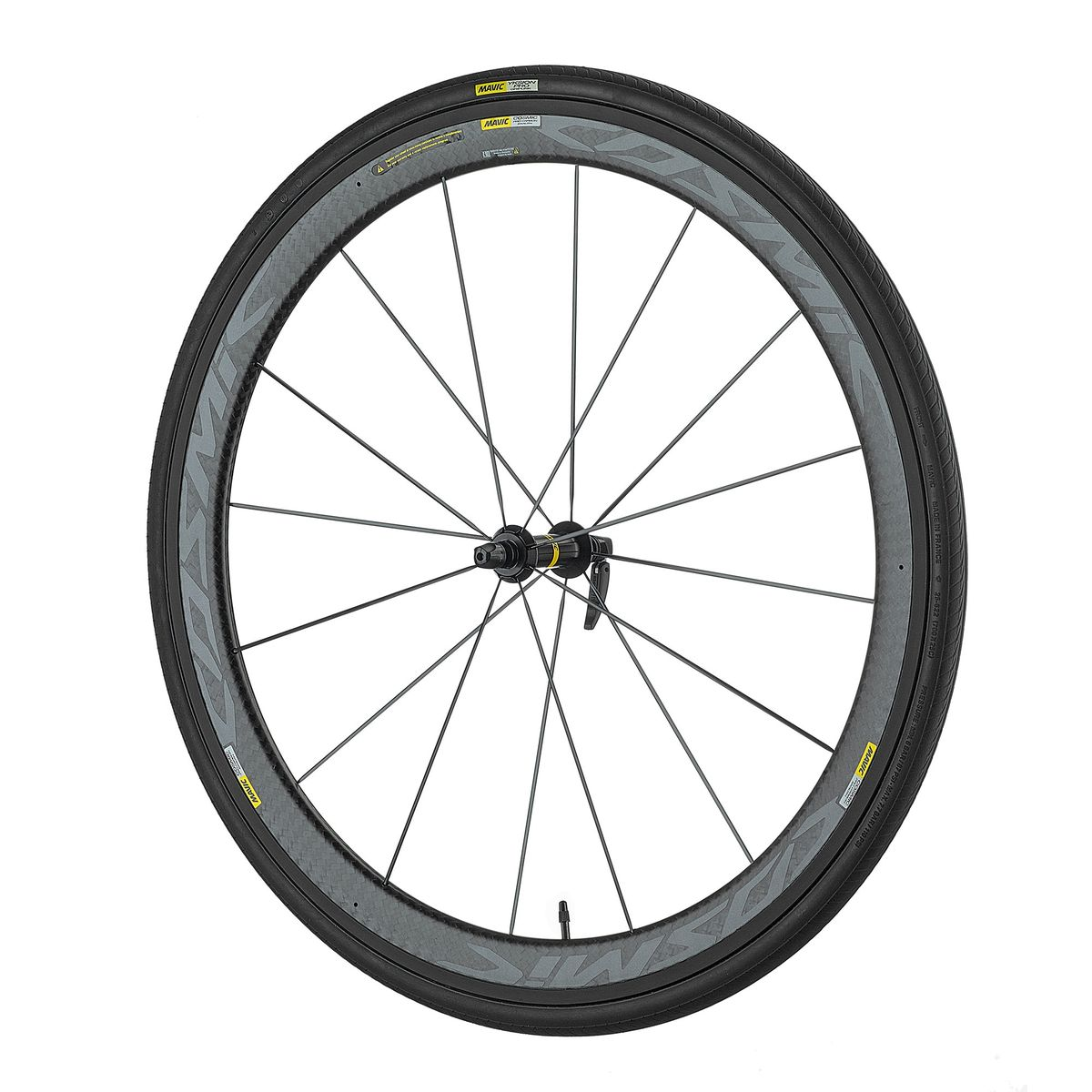 "Cosmic Pro Carbon Exalith WTS 28""/700 C road front wheel"