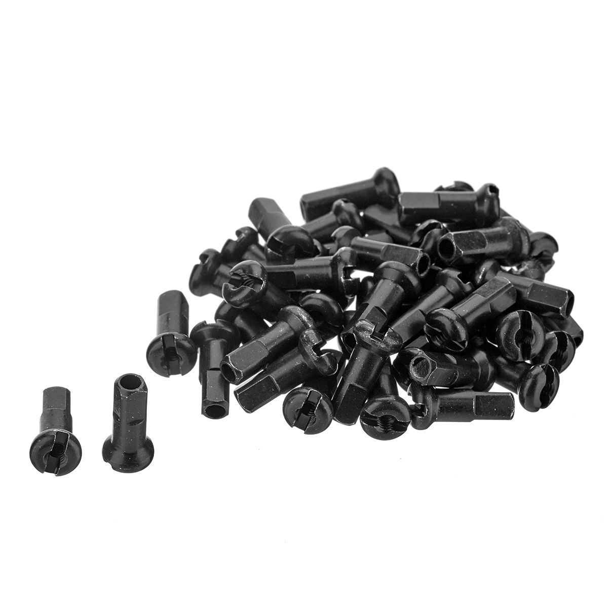 Pro Lock Spoke Nipples Black 40 Pack
