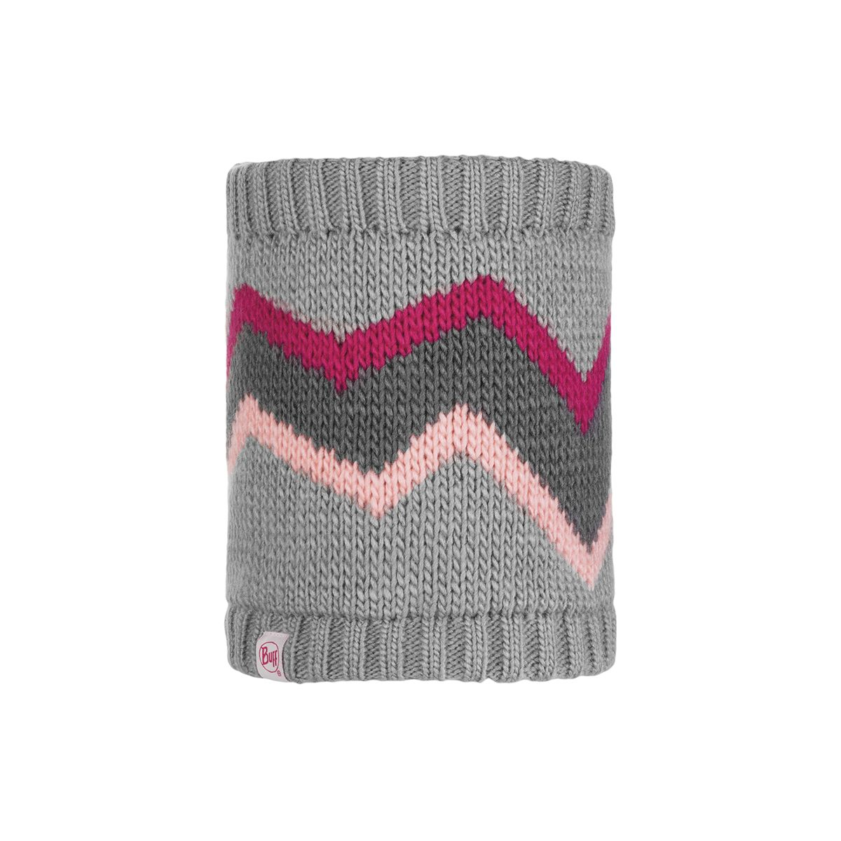 Arild Knitted & Polar Fleece Neckwarmer for kids