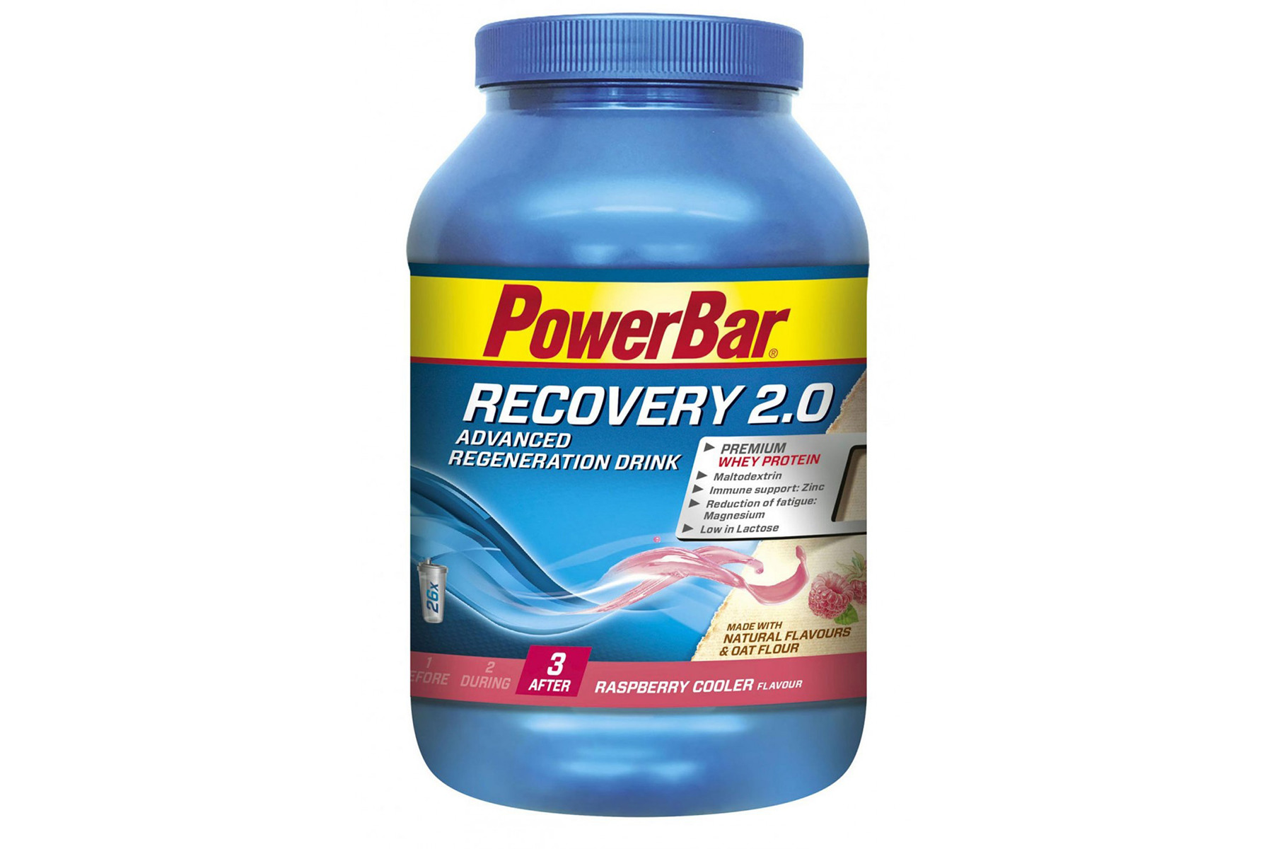 buy powerbar recovery 2 0 drink powder rose bikes