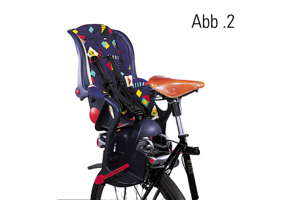 child carrier seat adapter with suspension