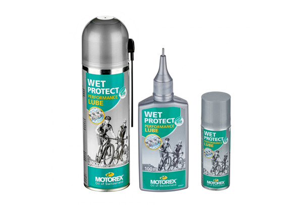 Wet Protect chain lubricant