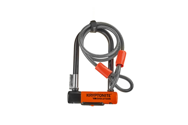 Evolution Mini-7 U-lock incl KryptoFlex loop cable