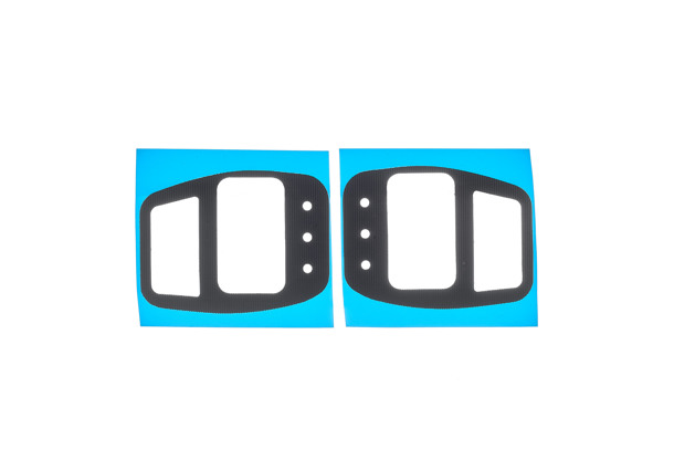 F40TT Velcro Race Pad 10 mm replacement pads